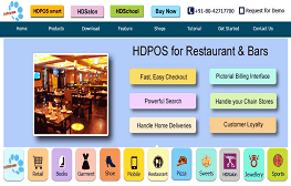 HDRestaurant  Software
