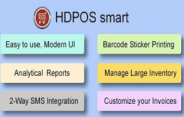 HDPOS Smart Accounts and Billing Software